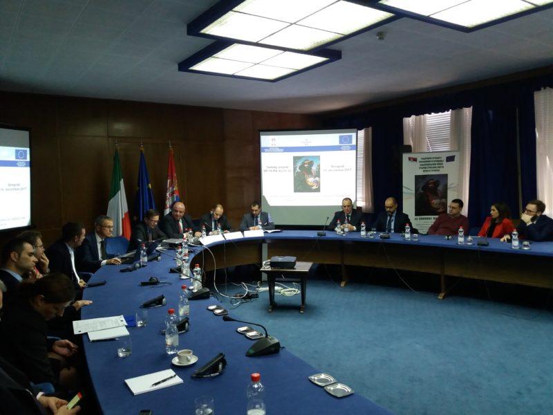 Cerimonia di apertura del progetto Twinning in Serbia